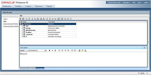 CDP - Create user in P6 version 8 (4)