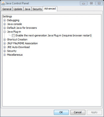 Fix for Customizing Text Error in CM14 with the latest Java Plugin